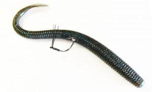 ワッキーリグ ワッキーストッパー装着例L9